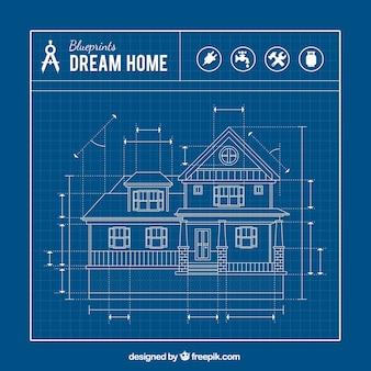 Casa blueprint