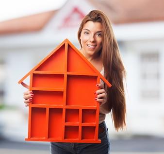Modello di casa in miniatura scaricare foto gratis for Costruttore di casa gratuito
