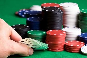 Chip e carte da poker