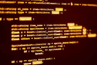 Codice del programma di computer