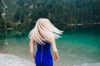 Coppia a Lake Di Garda felice