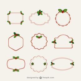 Cornici minimalista di Natale