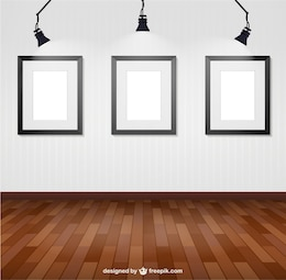 Cornici parete illuminata