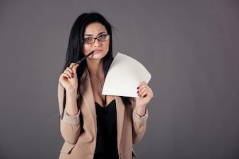 Corriere affari gridare stress da lavoro