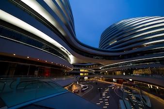 Creazione galassia prosperità urbana moderna