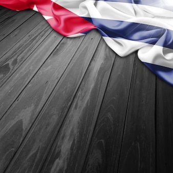 Cuba flag background