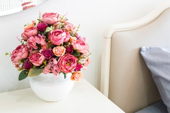 Decorazione fiore artificiale
