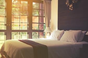 Design della camera da letto di lusso