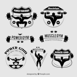 Distintivi Gym
