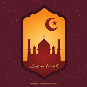 Eid Mubarak distintivo