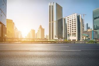 Finanziario astratto punto di riferimento della velocità moderna