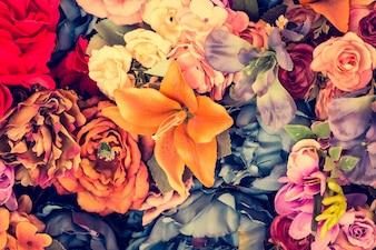 Fiori estivi fioritura primaverile rosa