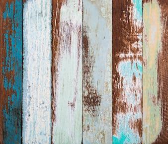 Fondo in legno colorato