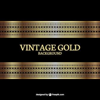 Fondo oro Vintage