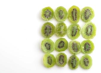 Frutta secca di kiwi