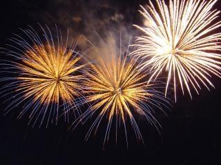 Fuochi d'artificio, razzi