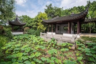 Edificio storico foto e vettori gratis for Giardino cinese