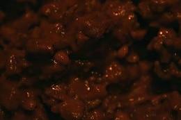 gooey stufato di carne scura