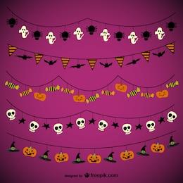 Halloween ghirlande confezione