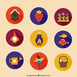 Icone di giardinaggio
