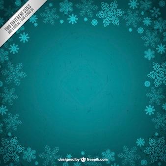 Inverno cornice Turquoise