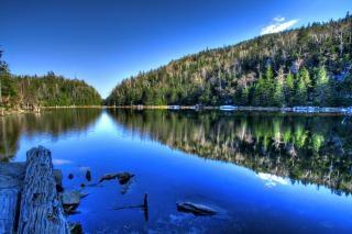 Lac abete hdr