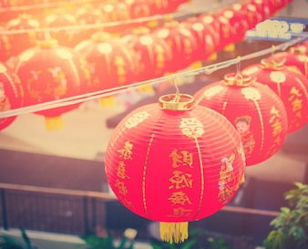 Lanterne cinesi, Capodanno cinese.