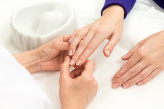 Manicure francese