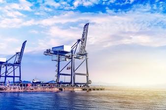 Marocco cantiere di business piattaforma di carico
