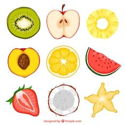 Metà di frutta