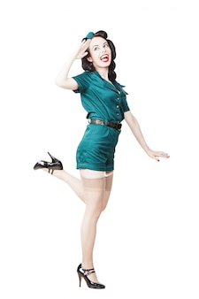 Militare donna pin-up