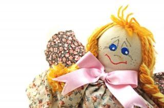 Moda bambola fatta a mano, uno