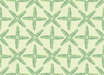 Modello di foglia verde tropicale.