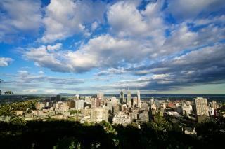 Montreal paesaggio urbano