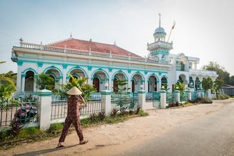 Moschea vietnamita nel delta del Mekong