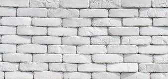 Muro di mattoni bianchi