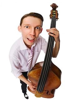 Musicista con violoncello