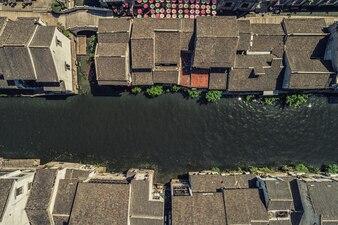 Nanchang strada vecchia città a Wuxi, Cina