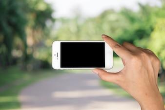 Nuove persone tablet sfondo telefono