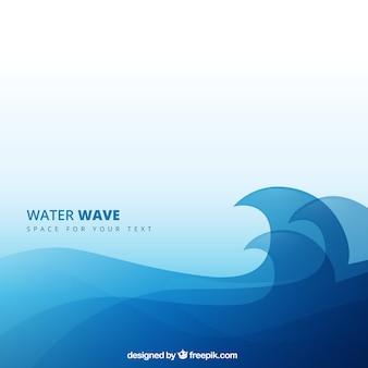 Onda di acqua di fondo