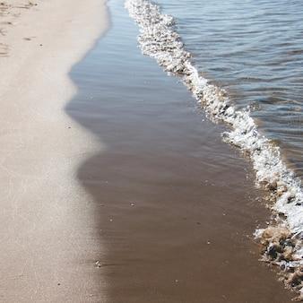 Onda sulla spiaggia