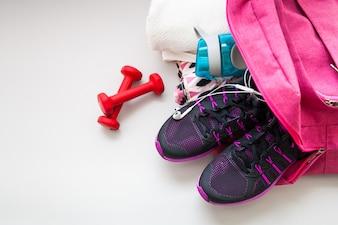 Palestra di allenamento fitness palestra ba