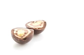 Palla di cioccolato al latte