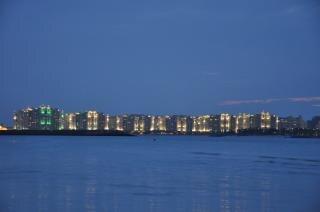 Palm Jumeirah di notte