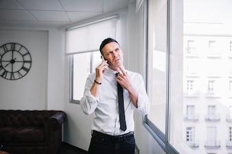 Pensare all'uomo d'affari