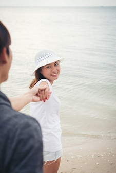 Persona della mano felicità persone romantiche