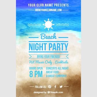 Pinterest grafico, notte di festa