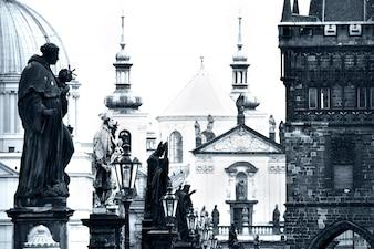 Ponte Carlo a Praga.