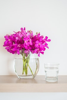 Por Fiore con acqua e vetro