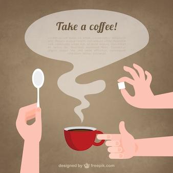 prendere un caffè